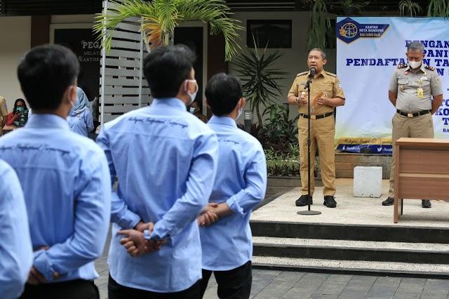 Dongkrak PAD, Pemkot Bandung Dukung BPN Bentuk Tim Ajudikasi Dan Satgas PTSL