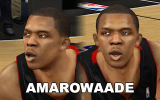 NBA 2K13 James Jones Cyber Face Mods