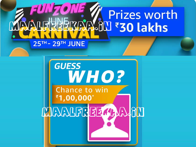 Amazon Guess Who? Contest