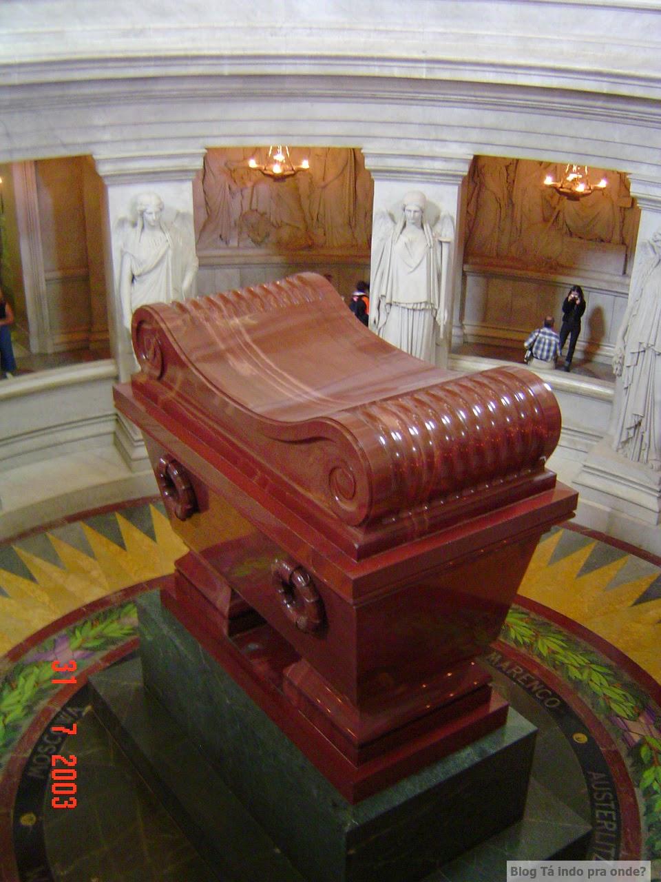 túmulo de Napoleão Bonaparte em Paris