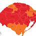 Três regiões em bandeira vermelha no RS enviam recursos ao mapa preliminar da 41ª rodada