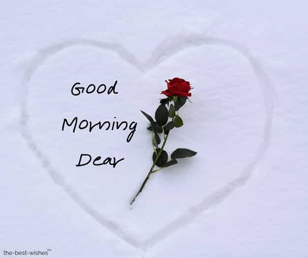 good morning dear best friend