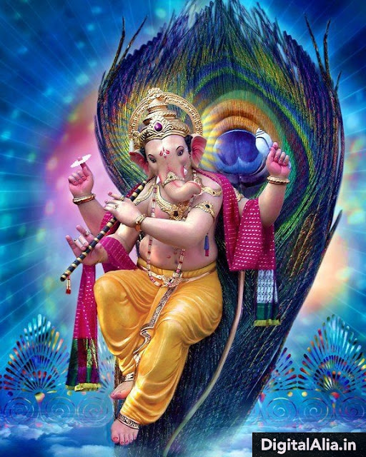 top rare god ganpati images wallpaper for whatsapp