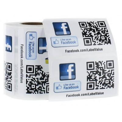 Code QR  facebook