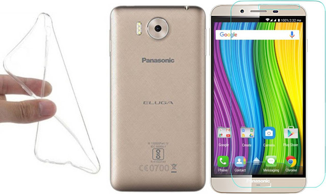 Panasonic Eluga Note Best Tempered Glass Screen Protector Cases and Covers
