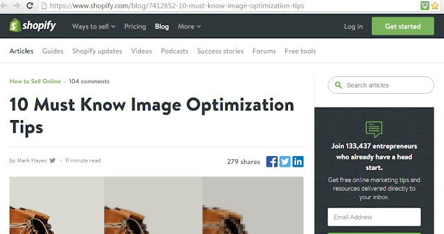 Interesting links of the week shopify tips on image optimization