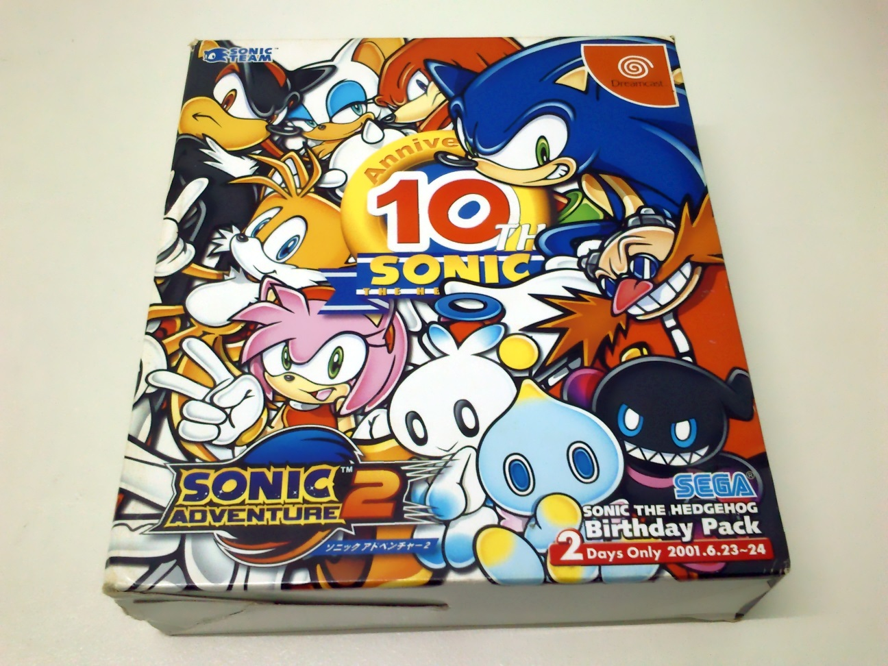 Sonic Adventure 2 Birthday Pack - Collectibles - Sonic Notes-4257