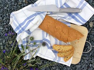 Nízkosacharidové pečivo z kešu, zlatého lněného semínka a vajec
