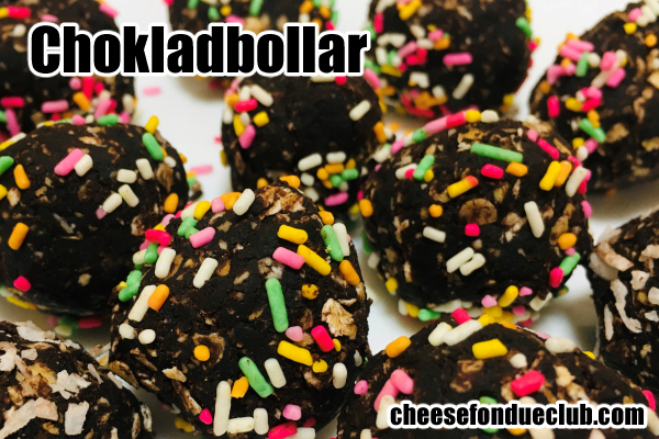 ホクラードボッラルChokladbollarのレシピ