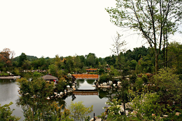 Serenity at the Japanese Garden at Meijer Gardens