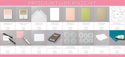Stampin' Up! rosa Mädchen Kulmbach: Karte mit Glücksschweinchen, Stanze Klassisches Etikett, Lagenweise Kreise und Stickmuster