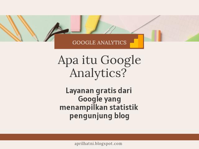 memasang google analytics pada blog