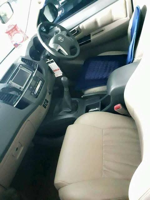 Toyota Fortuner tahun 2011 bekas