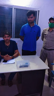 देशी पिस्टल एवं 3 कारतूस के साथ आरोपी युवक गिरफ्तार