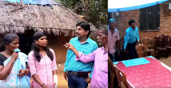 Santhosh Pandit visits Sreedhanya, donates essential household items, Wayanadu, News, Education, Family, Visit, Facebook, Post, Video, Cine Actor, Cinema, Entertainment, Kerala