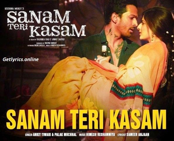 Sanam Teri Kasam Lyrics