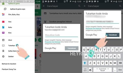 Cara Membeli Kode Google Play di Indomaret