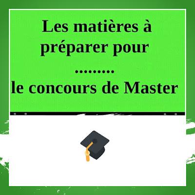 Les,matières,à,préparer,pour,le,concours,de,Master