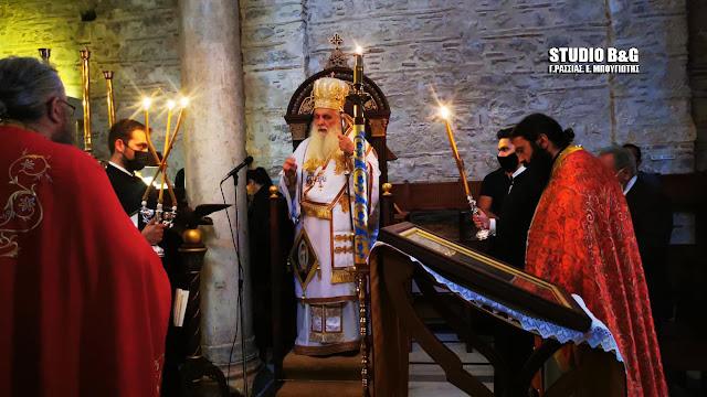 Γιορτάζει το Βυζαντινό μοναστήρι της Αγίας Μόνης στο Ναύπλιο (βίντεο)