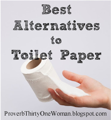 What to use when there's no toilet paper