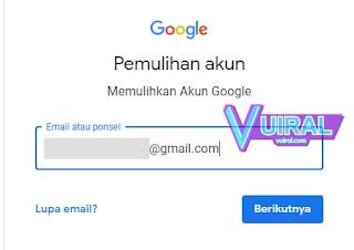 Cara Memulihkan Akun Google Lupa Sandi Dengan Nomor HP/Telepon