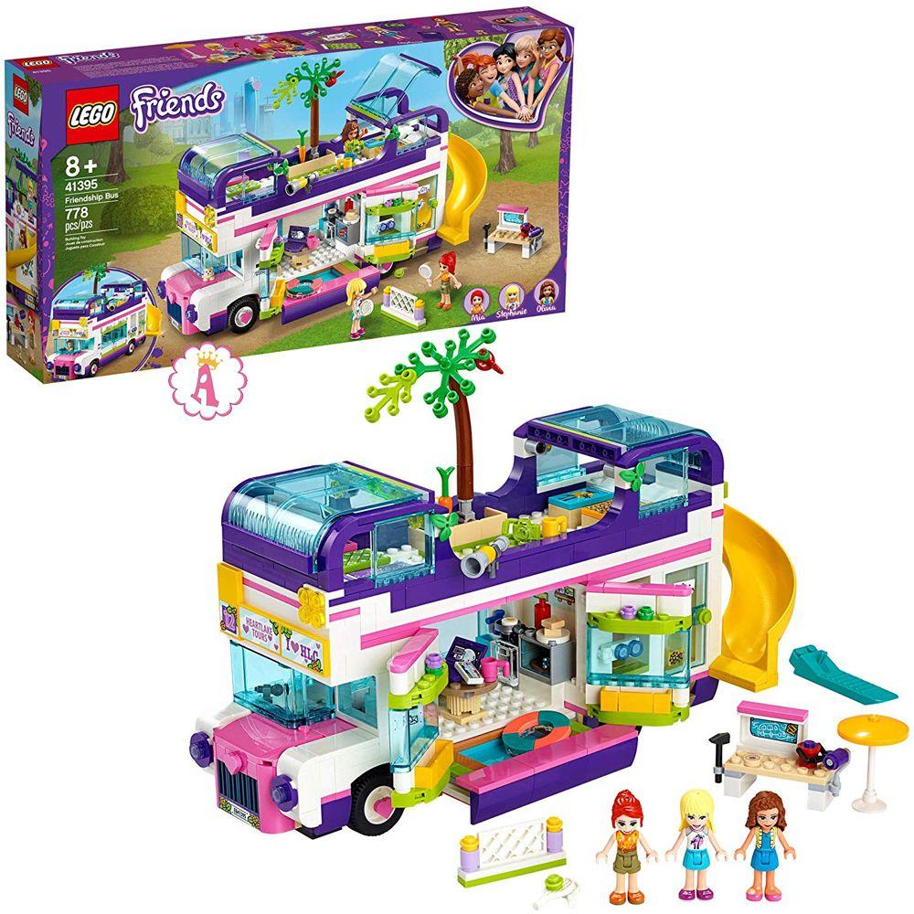 Автобус дружбы новинки LEGO Friends 2020 года Friendship Bus 41395