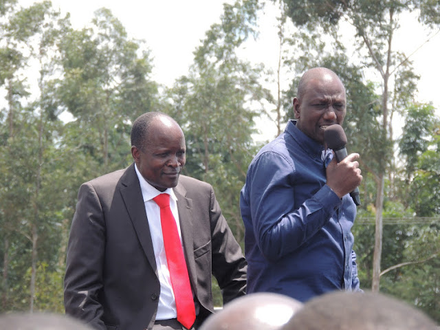 William Ruto and Okoth Obado