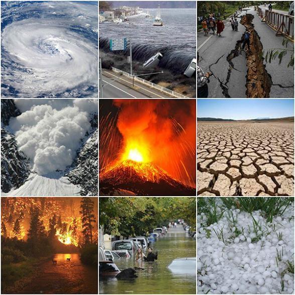 el problema de los desastres naturales