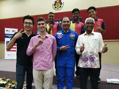 Beyond the Moon: Perkongsian Inspirasi HESA 2018 di Perpustakaan Kedah