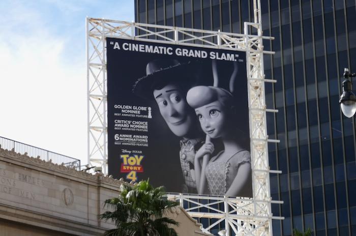 Toy Story 4 consideration billboard