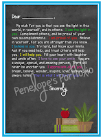 Letter to Student - Chalkboard Version