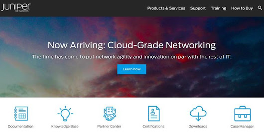 New Juniper Networks Products, Services Focused On Agility