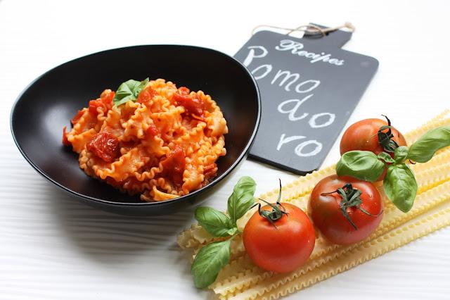 Ricetta vegana: mafalde ai quattro pomodori