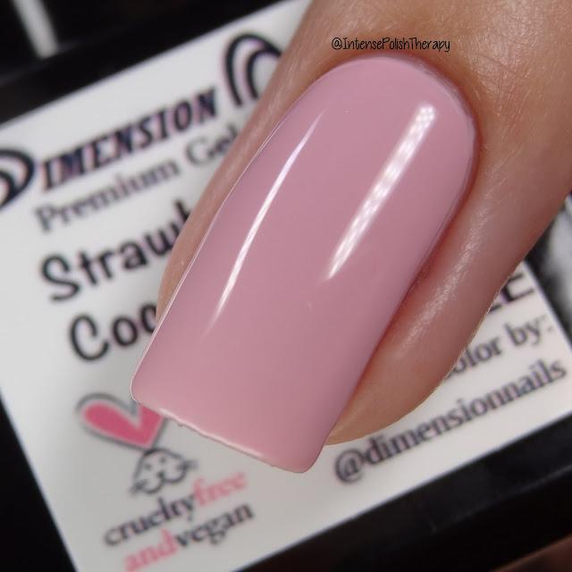 Dimension Nails Strawberries & Coconut Cream