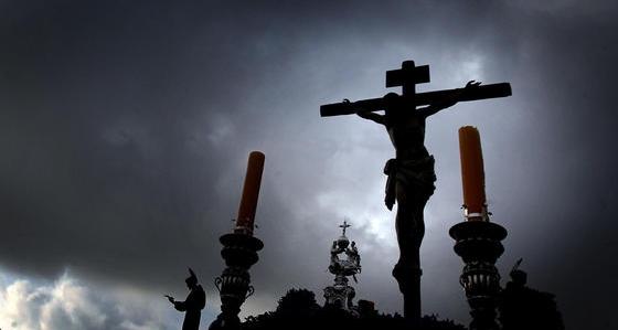 Histórica visita a la Cartuja, del Cristo de la Defensión de Jerez
