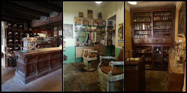 diferentes tiendas del musue de Salàs