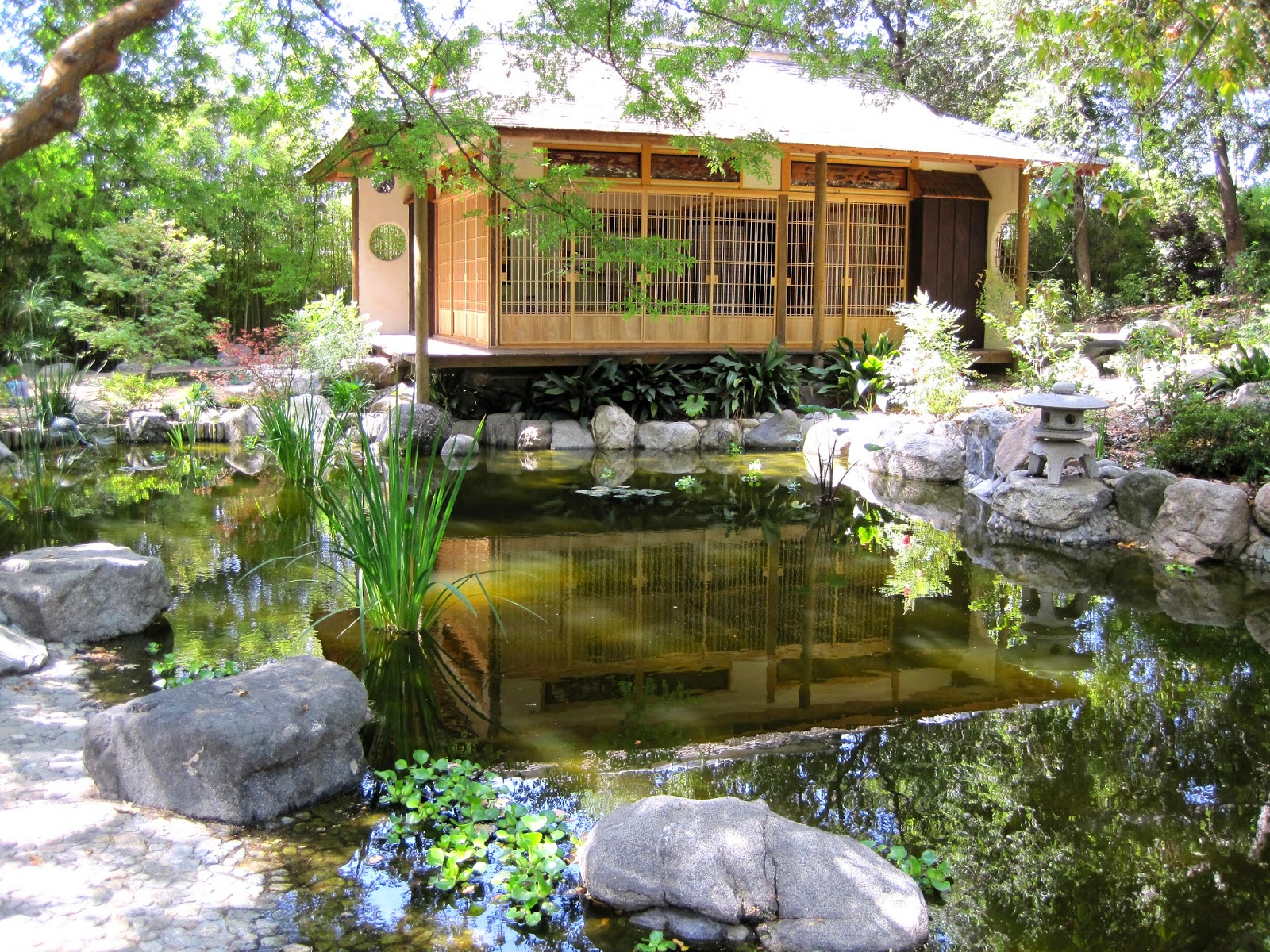 Sherry Schmidt Watercolors: A Japanese Garden