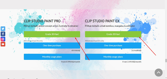 Cara Download Clip Studio Paint Gratis tanpa registrasi