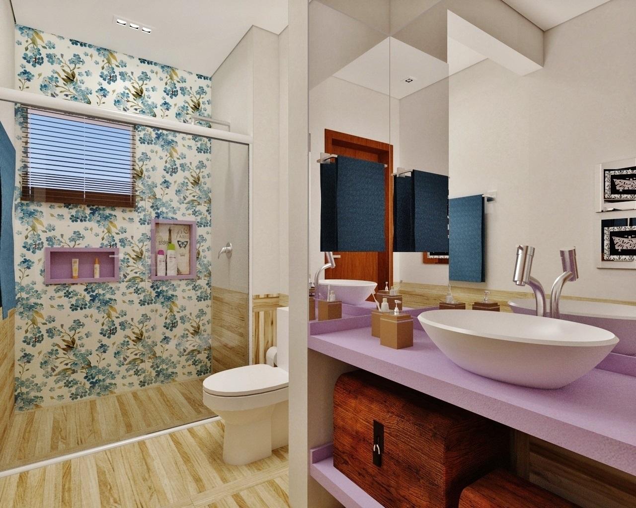 Fernanda Seabra  Designer de Interiores BANHEIRO COM CARTAZ PARIS -> Cartaz Banheiro Feminino