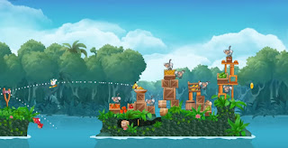 Angry Birds Rio vs Monkey Mod Apk v2.6.7 Unlocked Offline