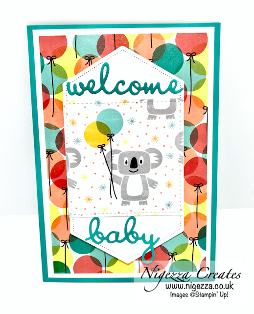 birthday bonanza Stampin Up