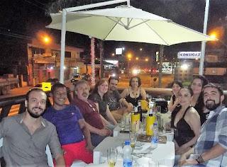 Jornalistas do vale se reúnem em confraternização