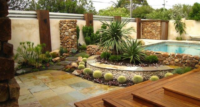 แบบจัดสวนหน้าบ้าน