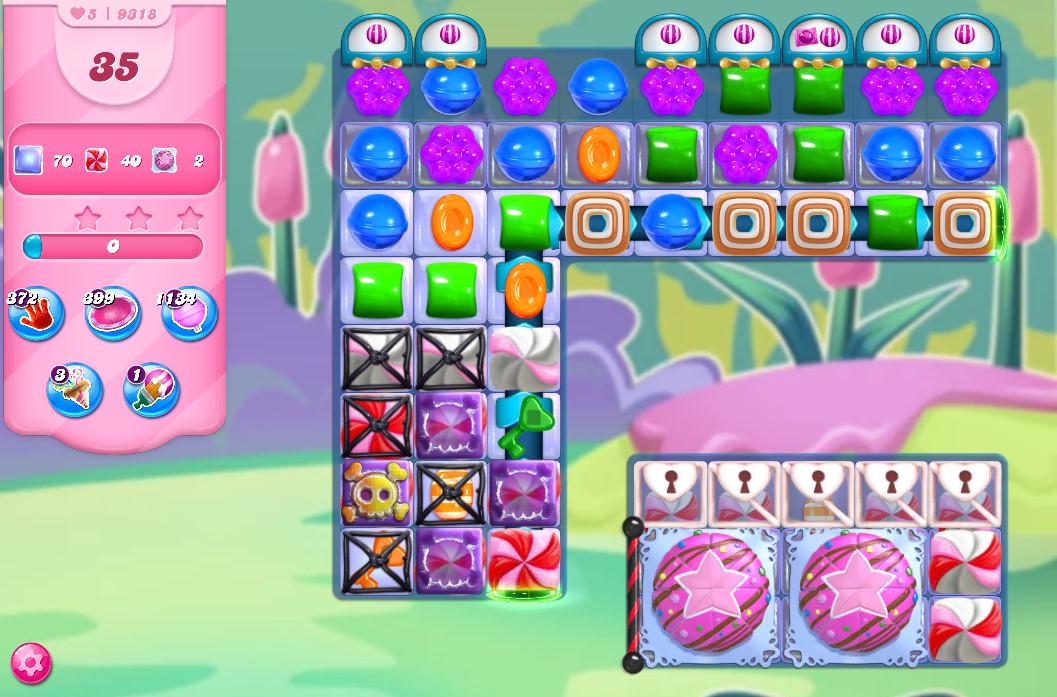 Candy Crush Saga level 9318