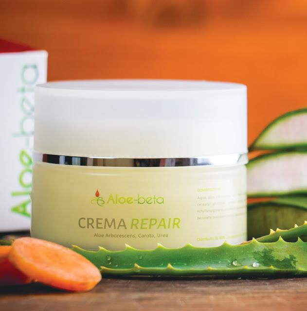 Crema Repair Aloe Arborescens Carota Urea