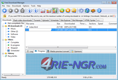 Free Download Manager 5.1.31 Build 6531 Final Terbaru