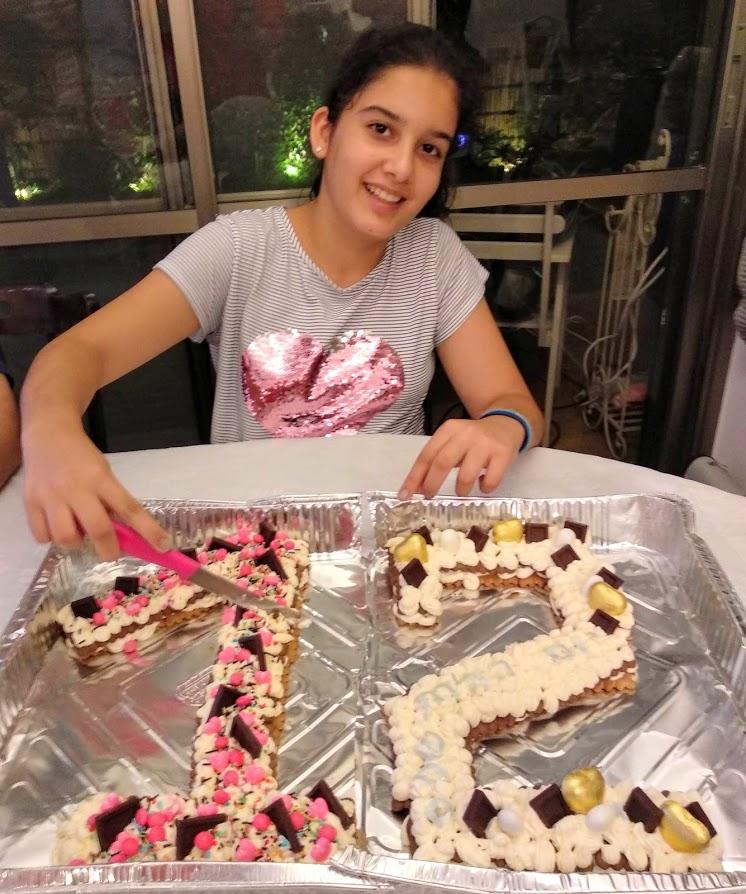 עוגת איך מספרים מכינים