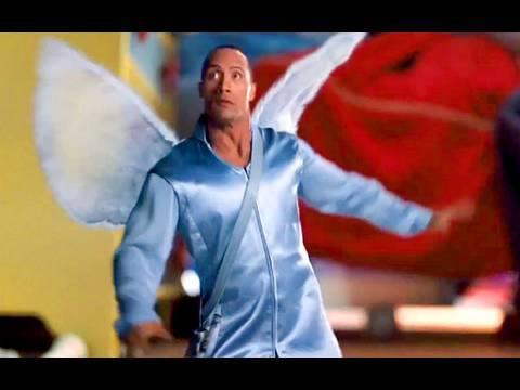 Dwayne Johnson remplace la fée des dents (équivalent américain de la petite souris) dans Fée Malgré lui (The Tooth Fairy) de Michael Lembeck (2010)