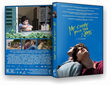 CAPA DVD – Me Chame Pelo Seu Nome DVD-R