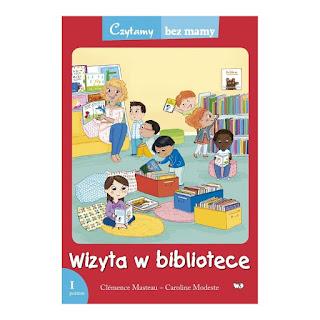 """""""Wizyta w bibliotece"""" Clemence Masteau - recenzja"""